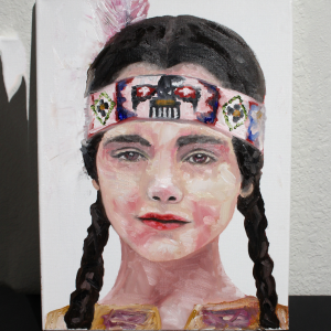 Wednesday Addams how to Oil Painting