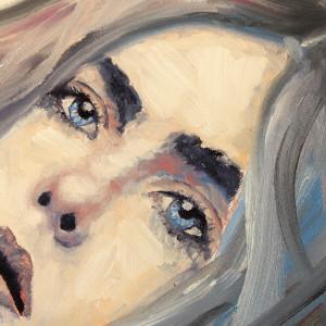 elle fanning portrait how to paint